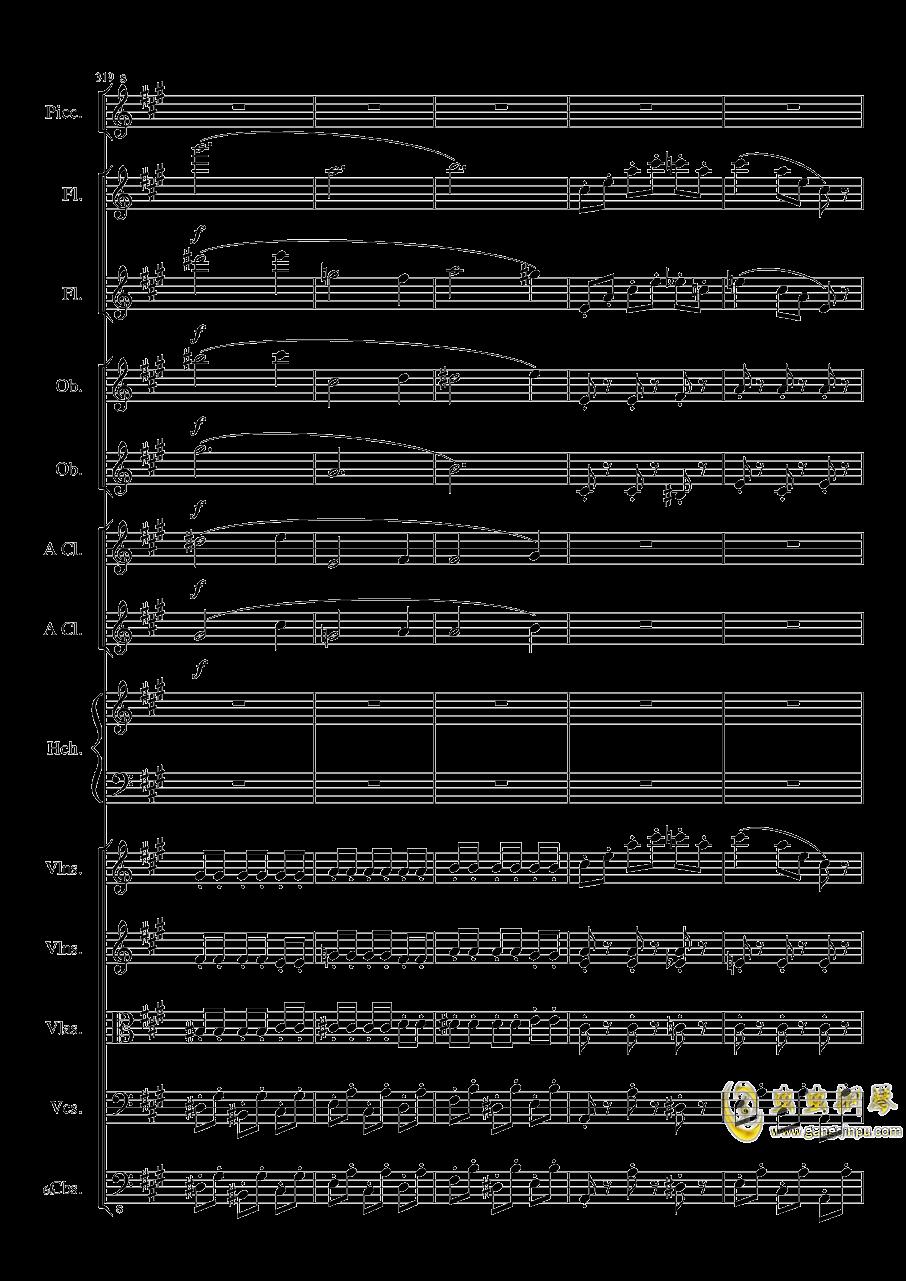 7 Contredanses No.1-7, Op.124 (7首乡村舞曲,第一至第七,作品124)钢琴谱 第66页