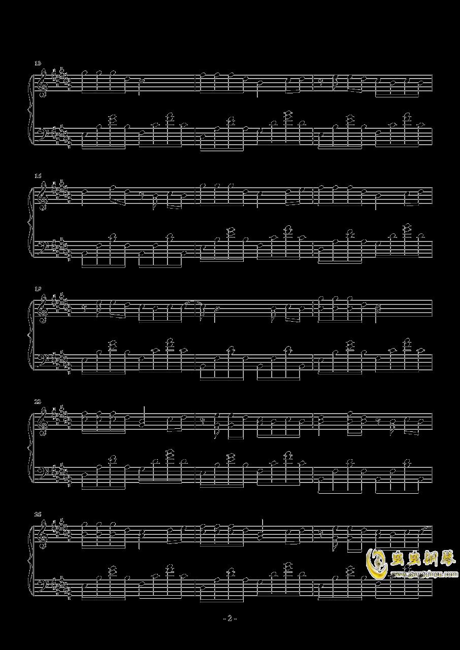 青柠钢琴谱 第2页