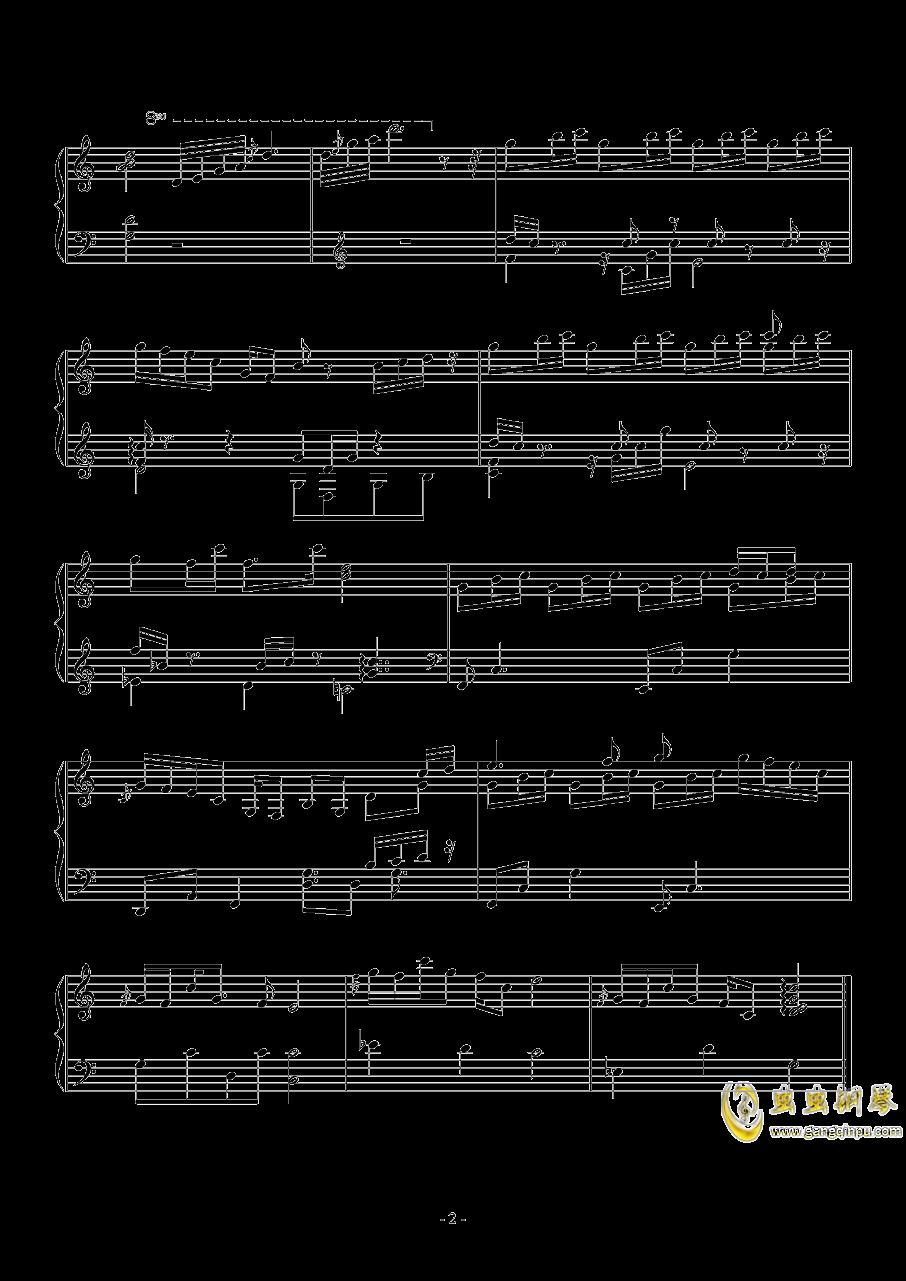 少女から少女へ钢琴谱 第2页