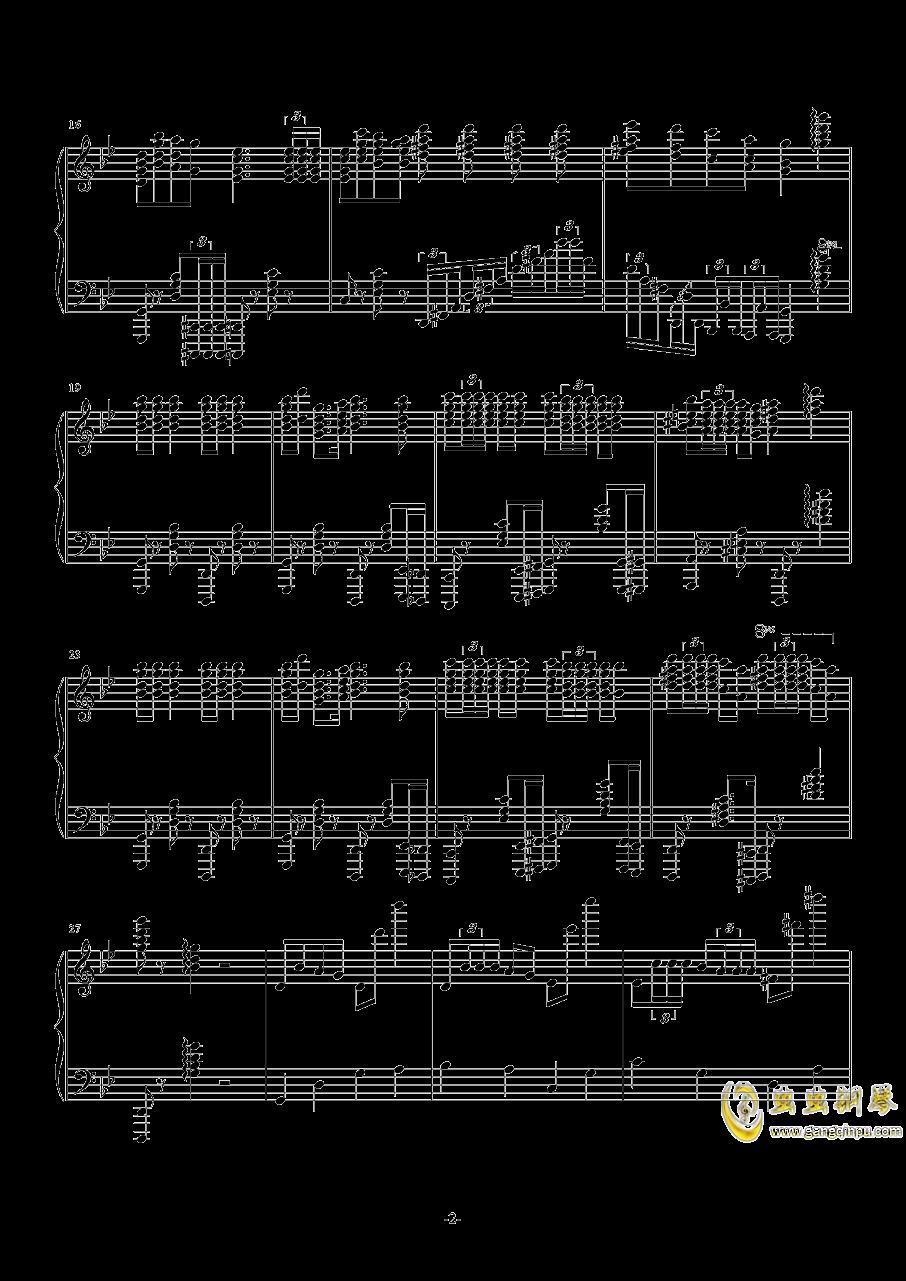 Jingle Bells钢琴谱 第2页