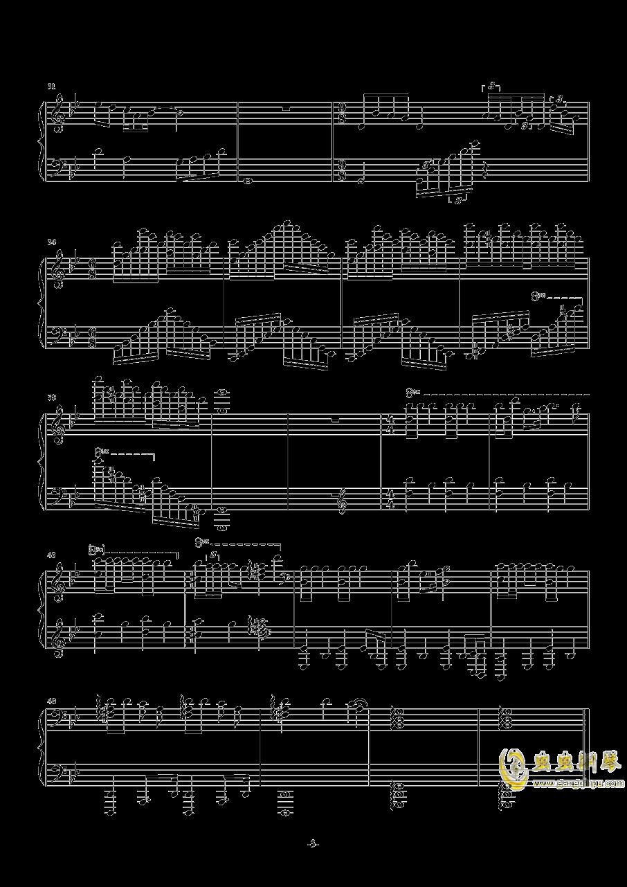 Jingle Bells钢琴谱 第3页