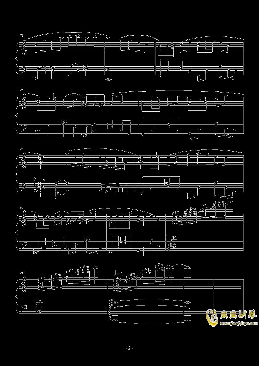 Exercise钢琴谱 第2页