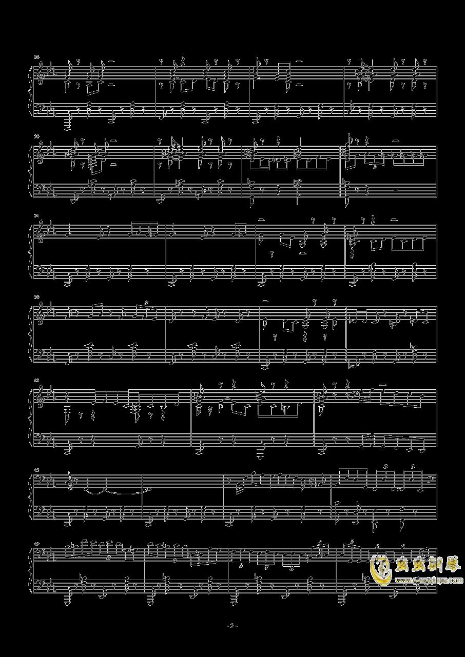 Tu Vuo钢琴谱 第2页