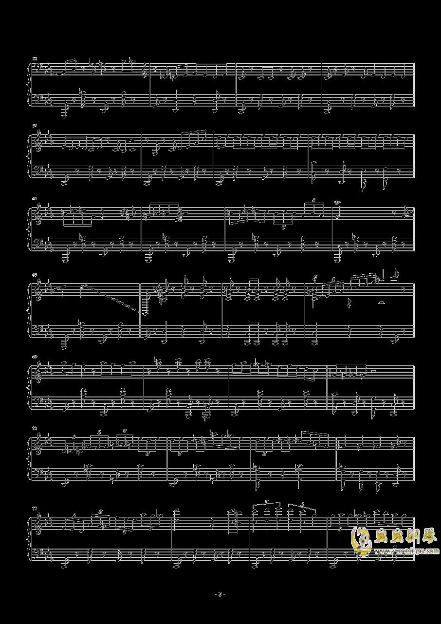 Tu Vuo钢琴谱 第3页