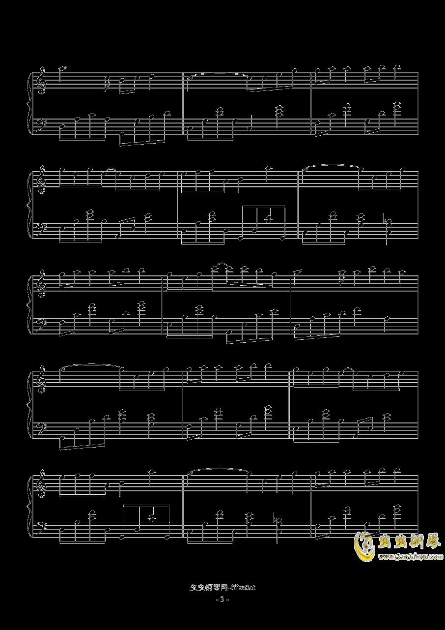 心愿便利贴钢琴谱 第3页