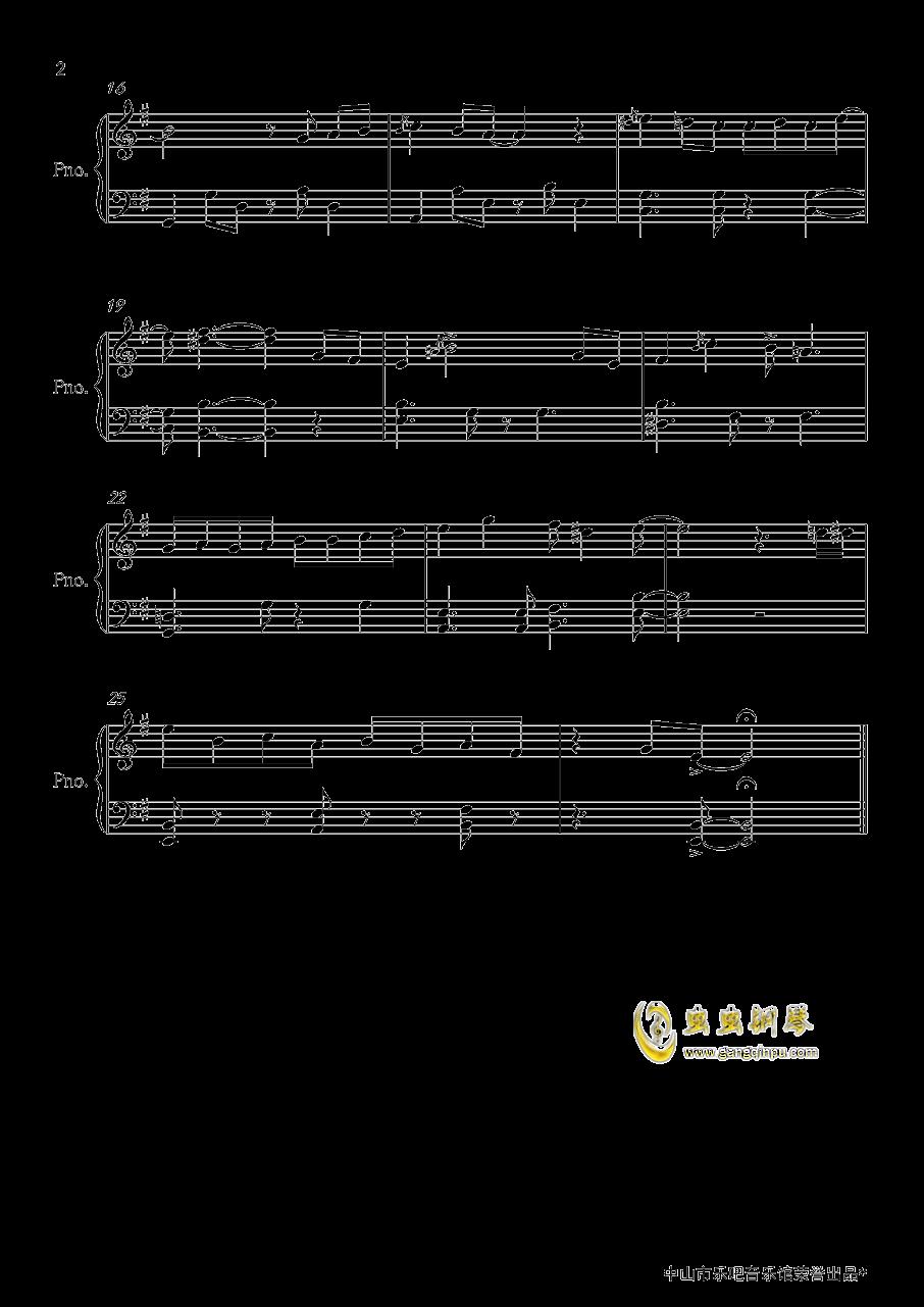名侦探柯南主题曲钢琴谱 第2页