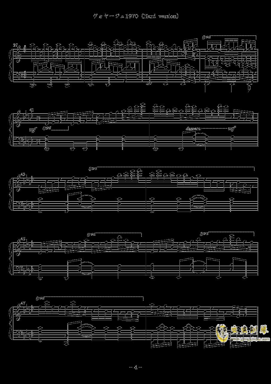 Voyage 1970钢琴谱 第4页