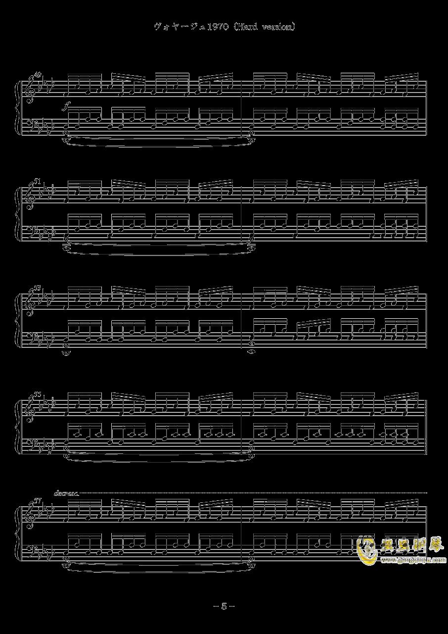 Voyage 1970钢琴谱 第5页