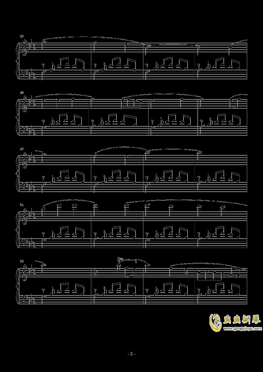 広橋真紀子-風の谷のナウシカ(李小熊改编)钢琴谱 第2页