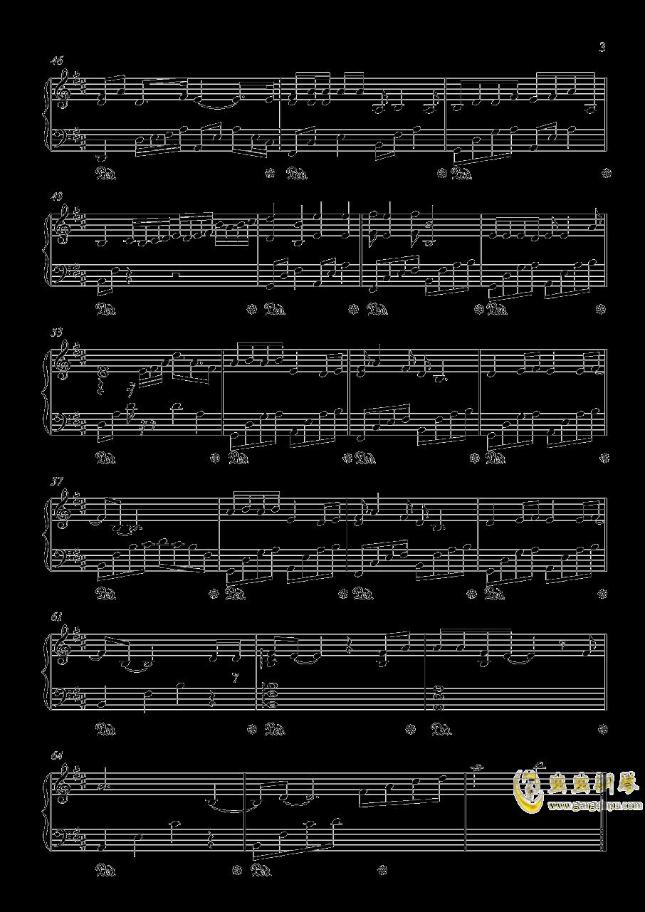 胡广生钢琴谱 第3页