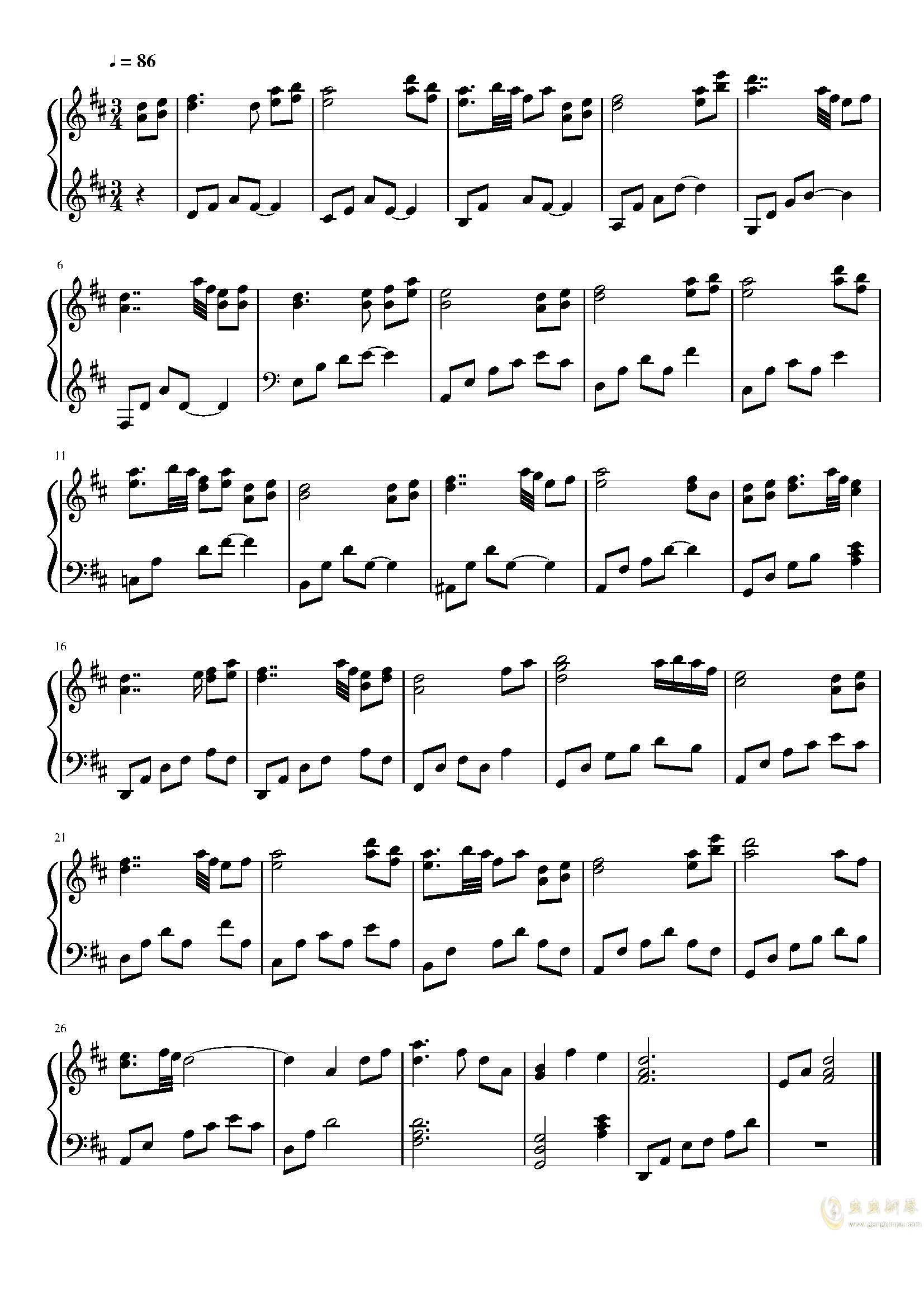 关于我转生变成史莱姆这档事 中国风bgm钢琴谱 第1页