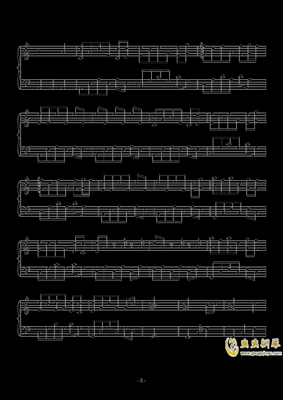 驻足的宁静钢琴谱 第2页