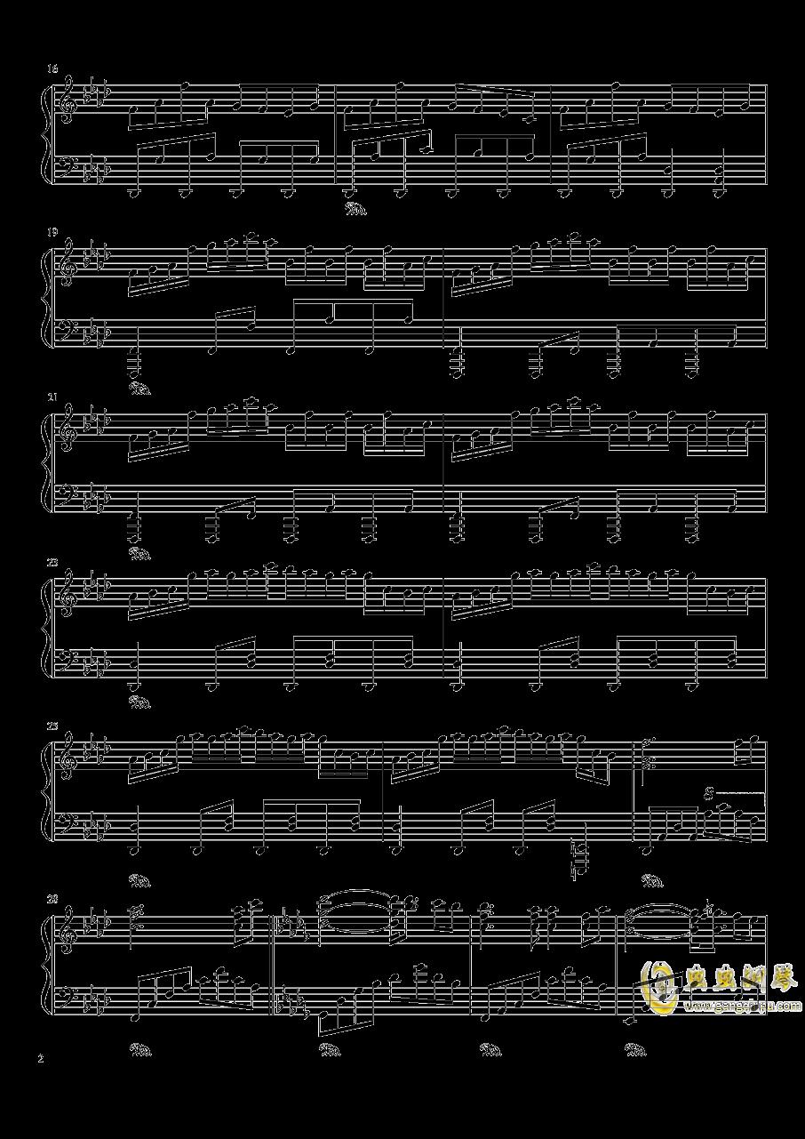 东方天空璋钢琴谱 第2页
