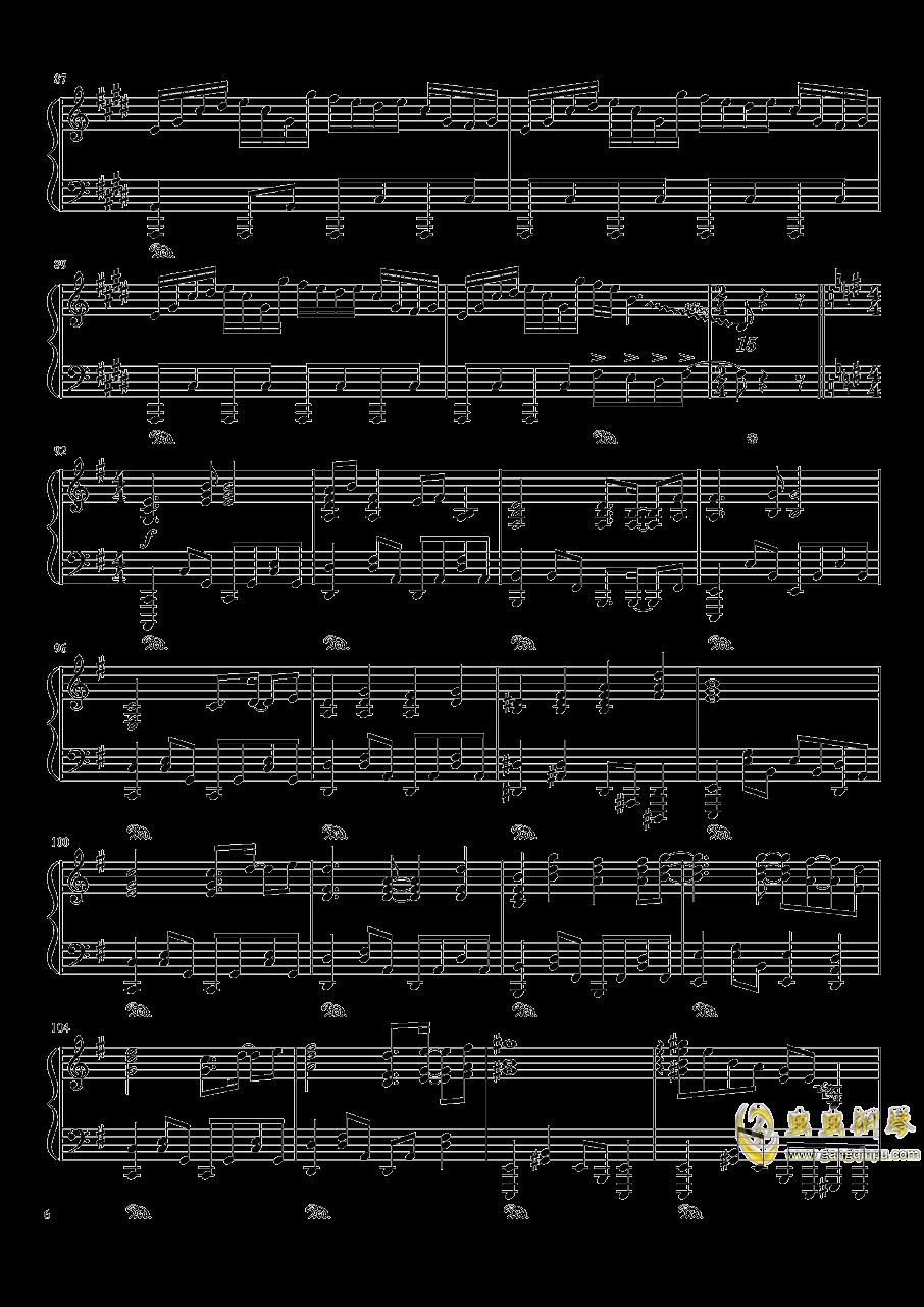 东方天空璋钢琴谱 第6页