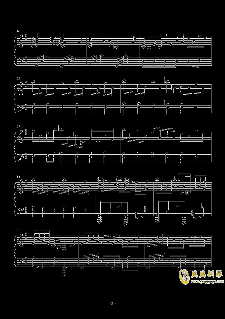 Hedwig钢琴谱 第2页
