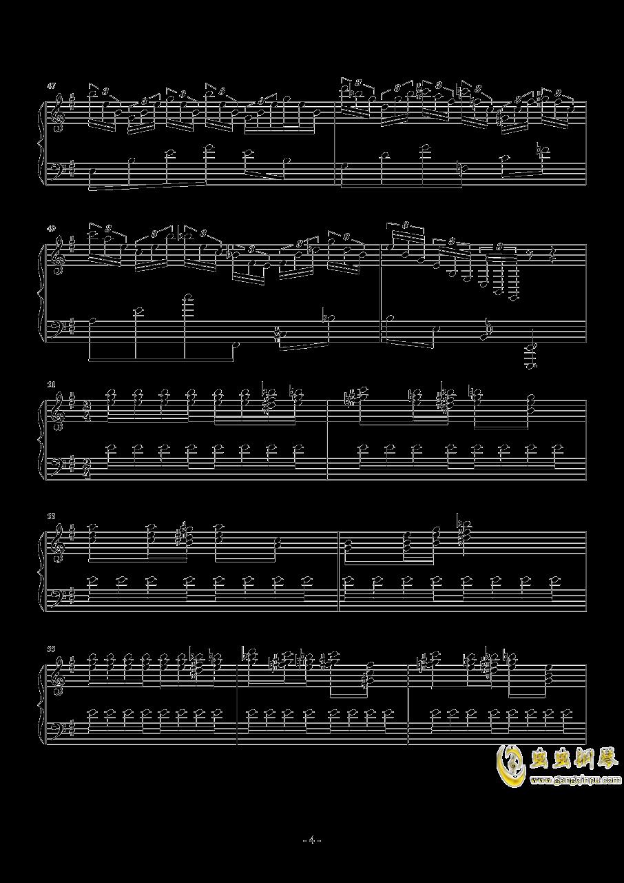 Hedwig钢琴谱 第4页