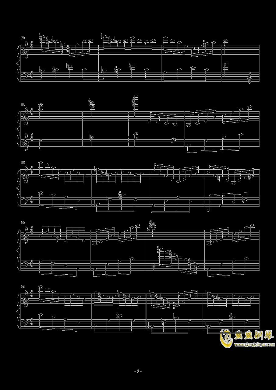 Hedwig钢琴谱 第6页
