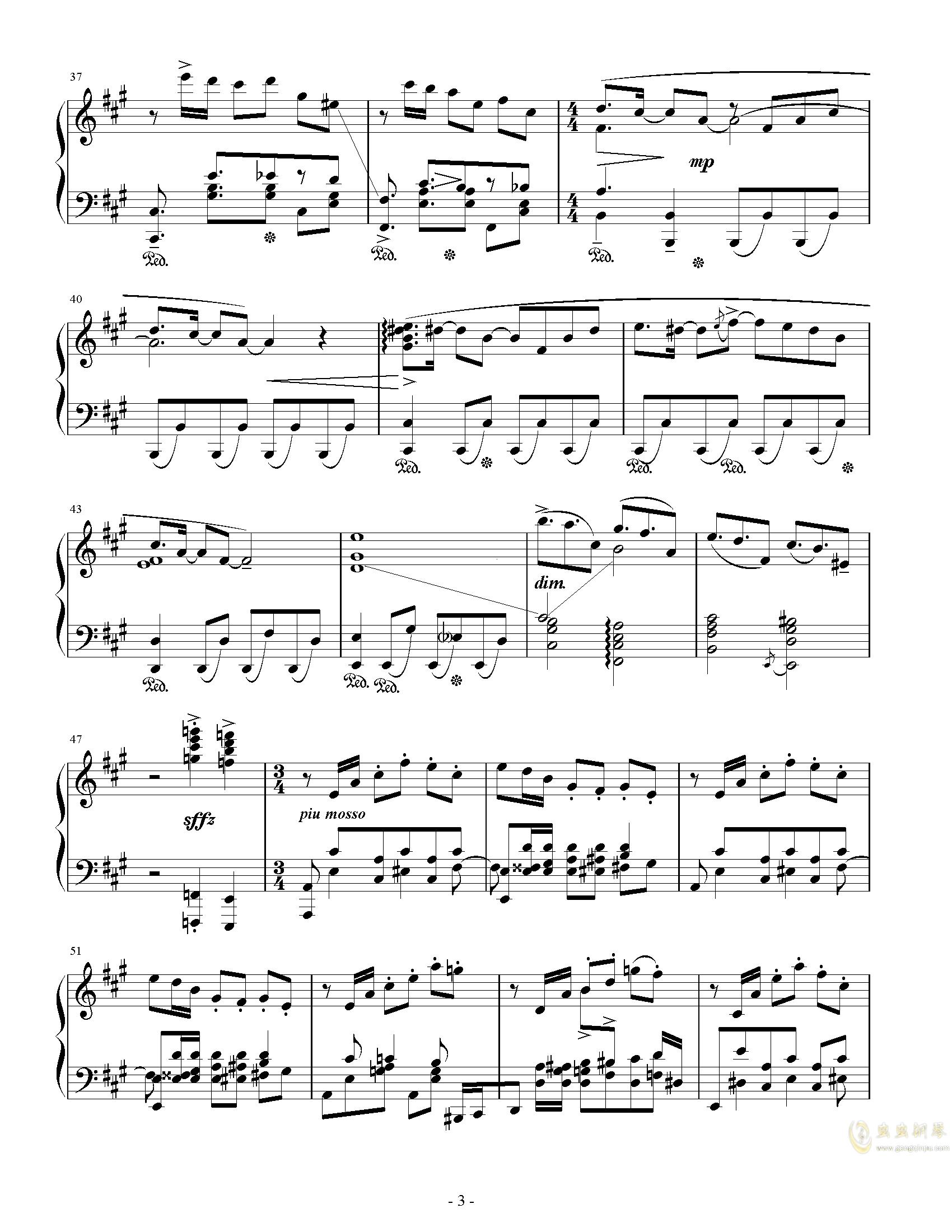 Party钢琴谱 第3页
