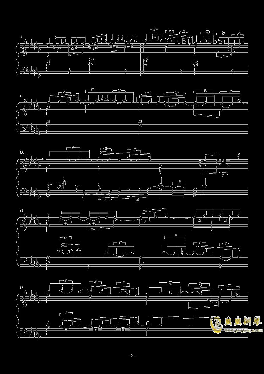 第一次飞行钢琴谱 第2页