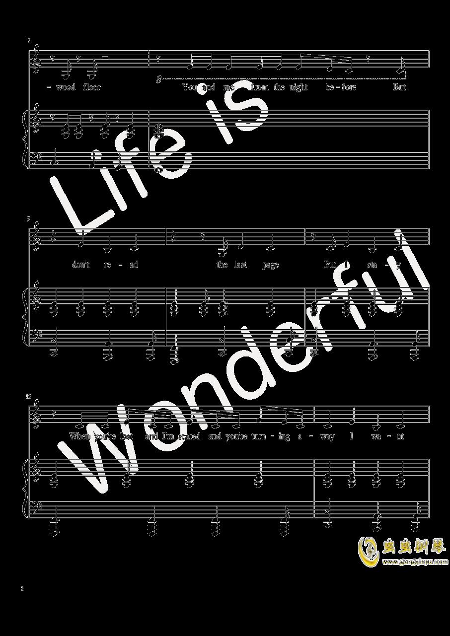 New Year钢琴谱 第2页