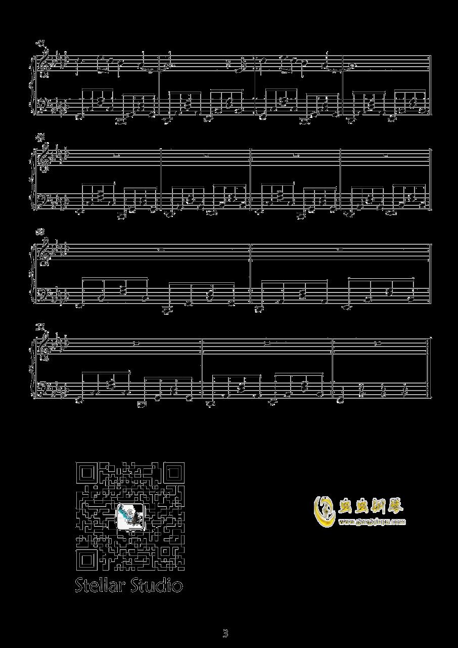出山钢琴谱 第3页