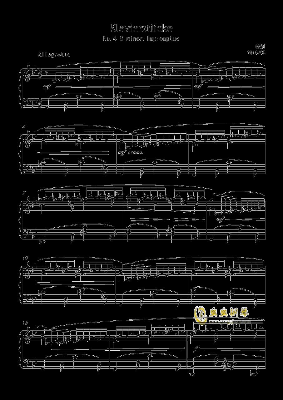 即兴曲,澳门星际官网4首,op3no4澳门星际官网 第1页