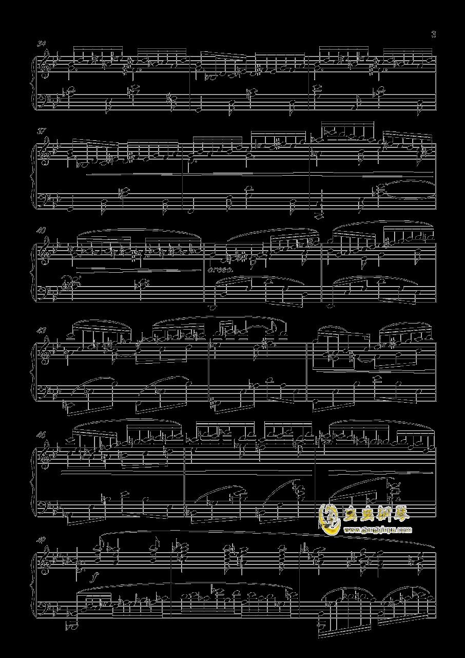 即兴曲,澳门星际官网4首,op3no4澳门星际官网 第3页