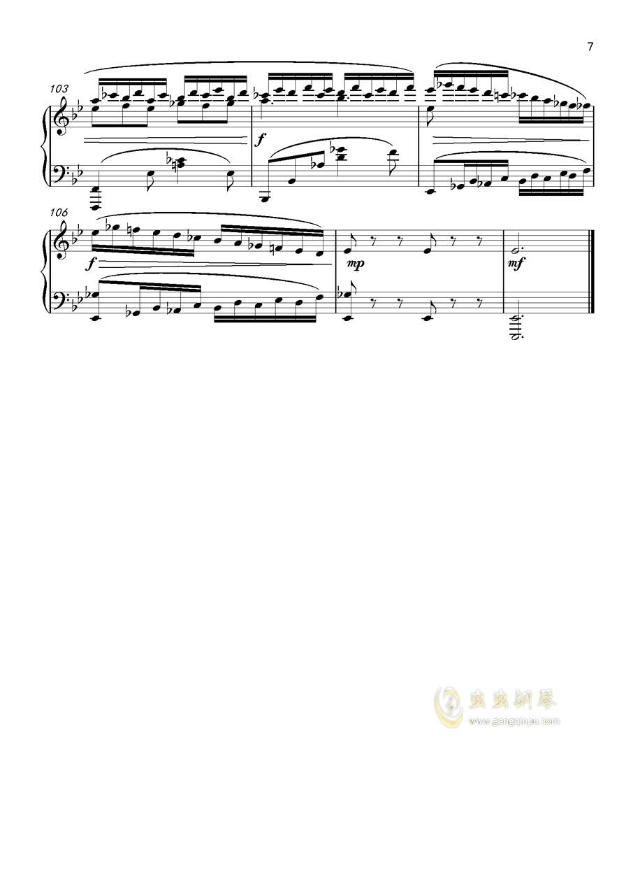 即兴曲,澳门星际官网4首,op3no4澳门星际官网 第7页