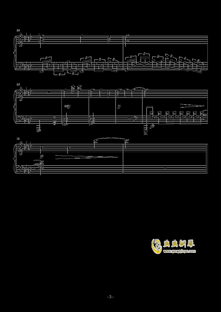 鬼泣5钢琴谱 第2页