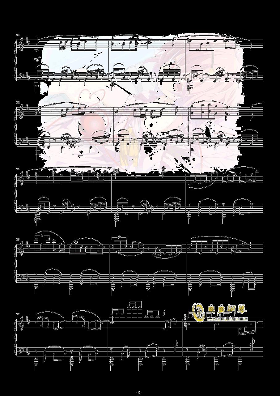 古典风少女觉の3rd eye钢琴谱 第3页