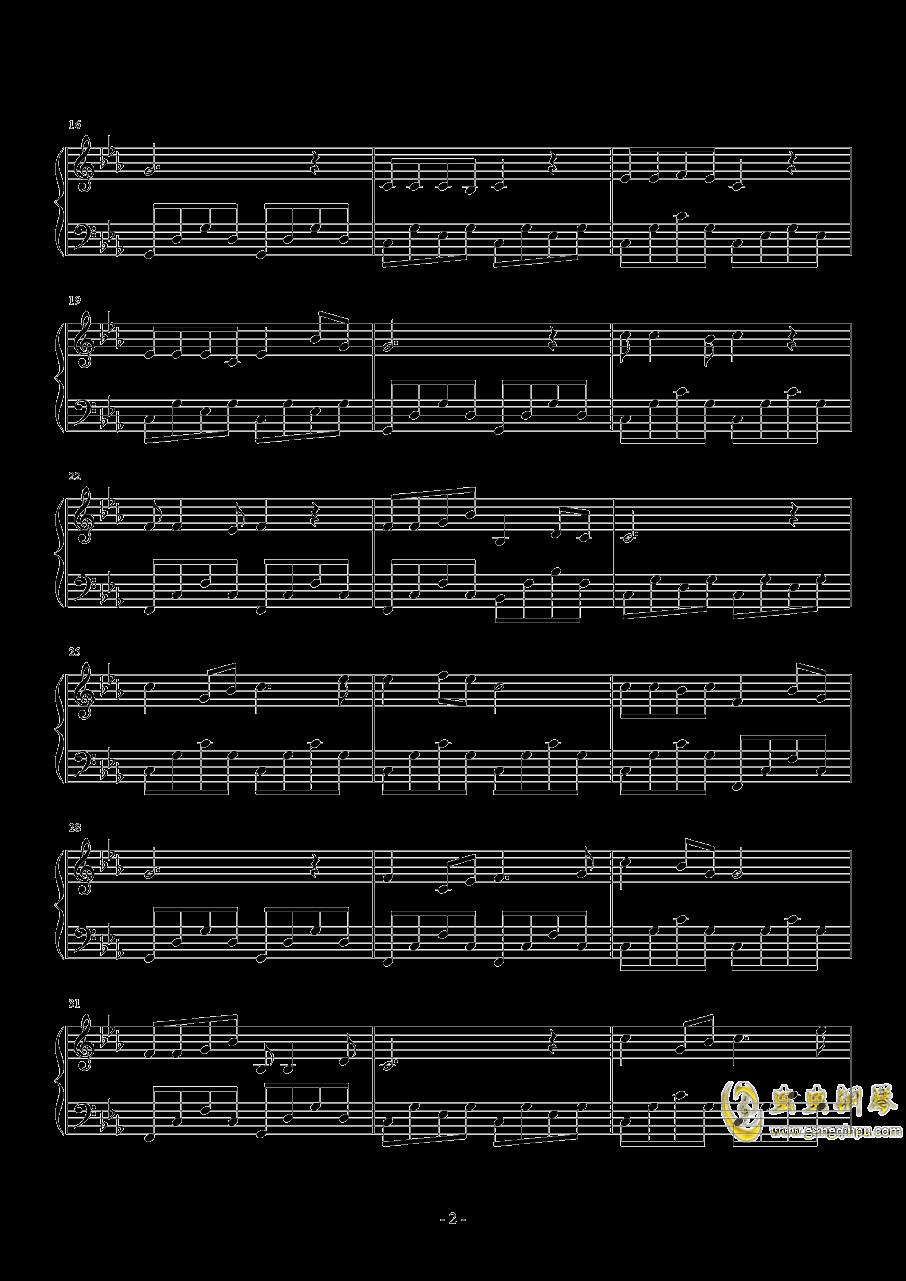 贵州欢迎你钢琴谱 第2页