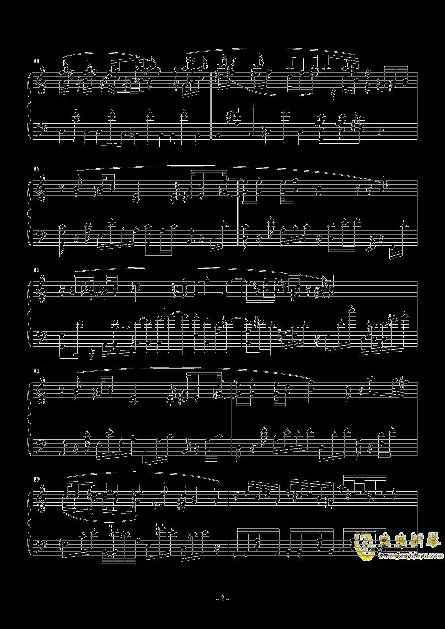 小委屈钢琴谱 第2页