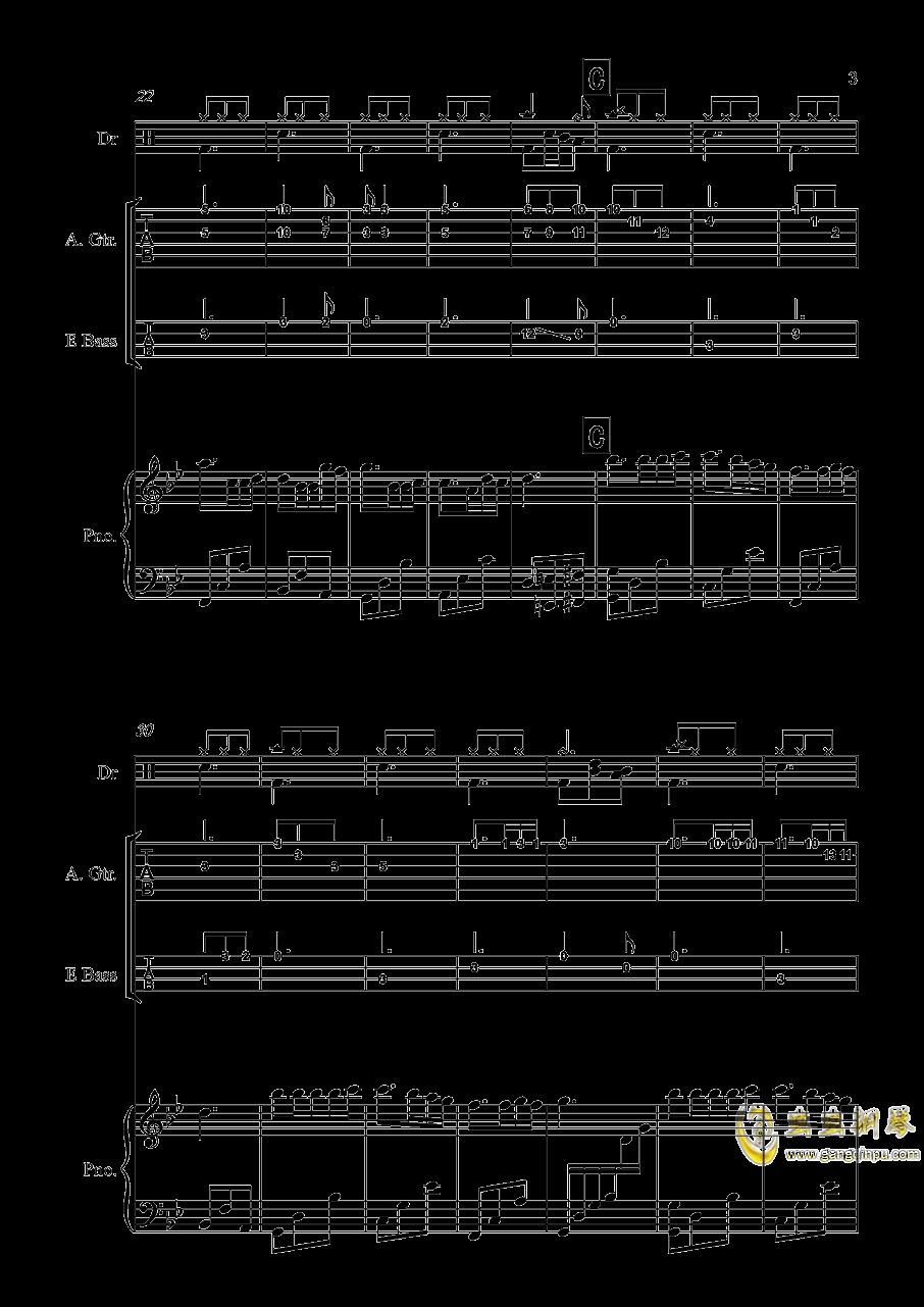 梦中的婚礼钢琴谱 第3页