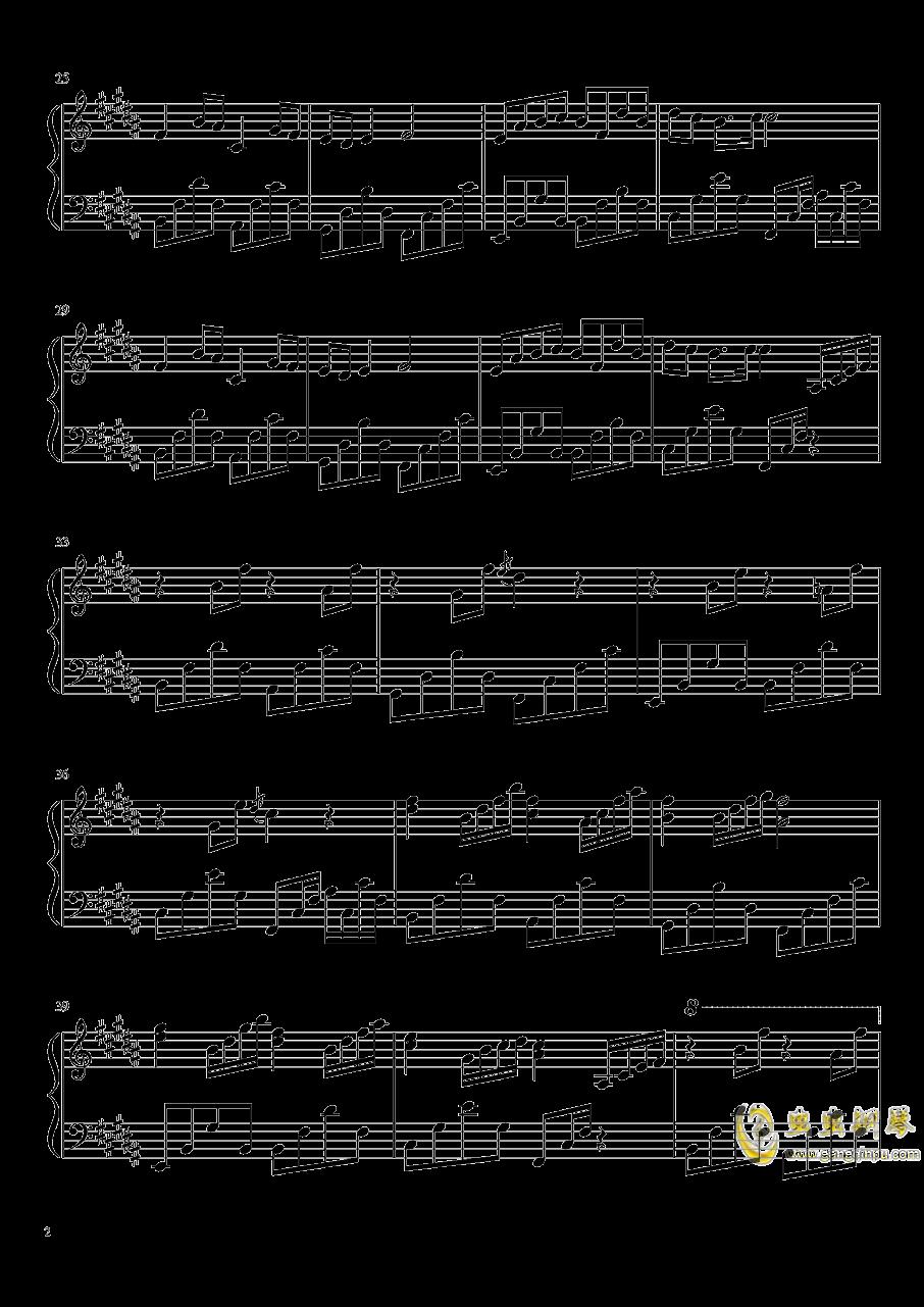 温暖的诗篇钢琴谱 第2页