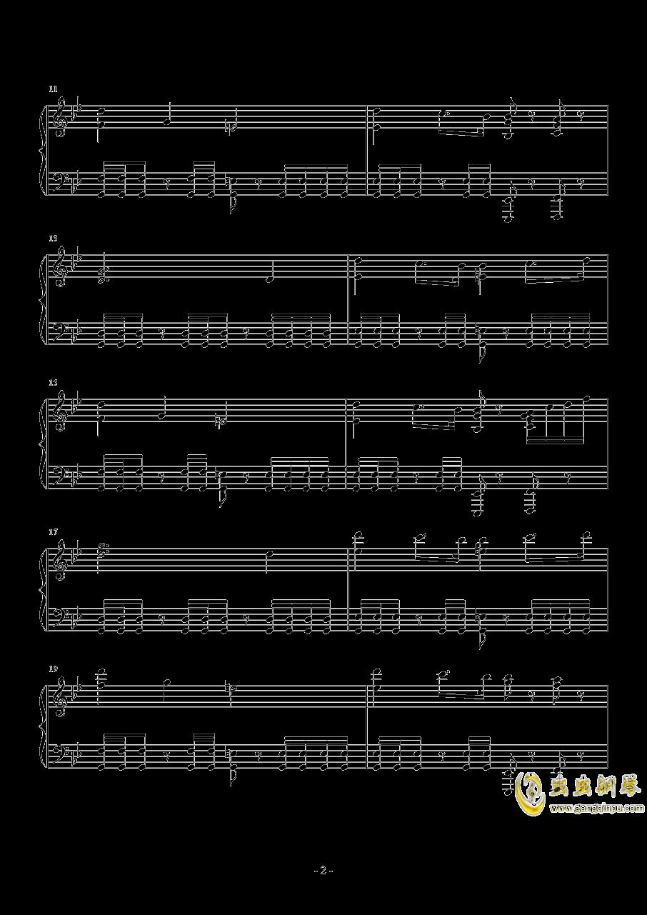 The Avengers钢琴谱 第2页