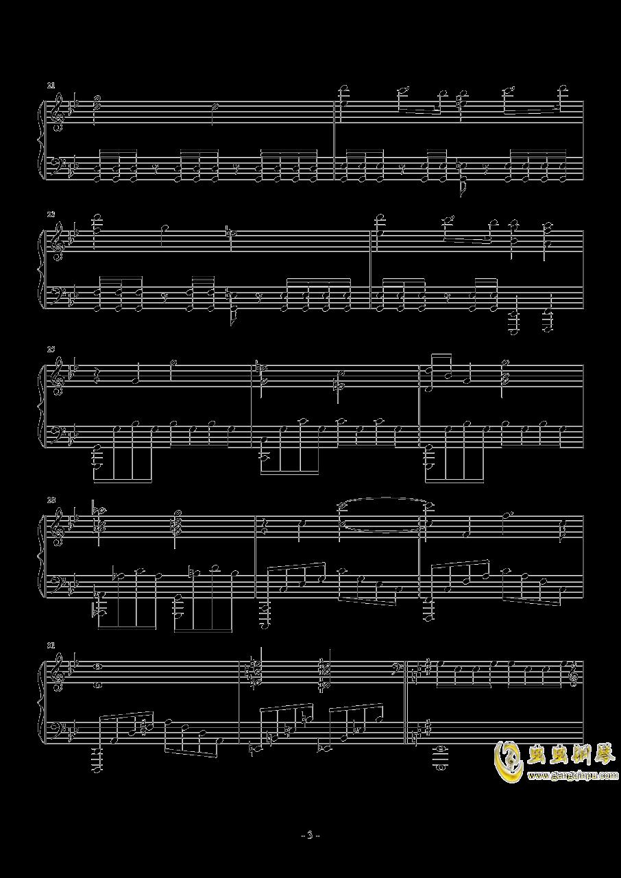 The Avengers钢琴谱 第3页
