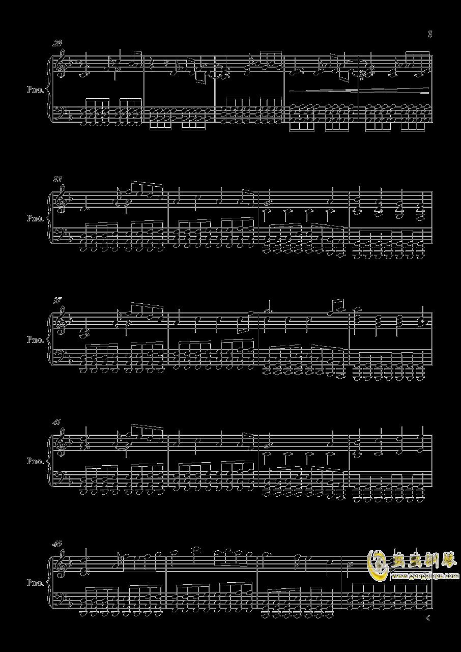 Victory钢琴谱 第3页