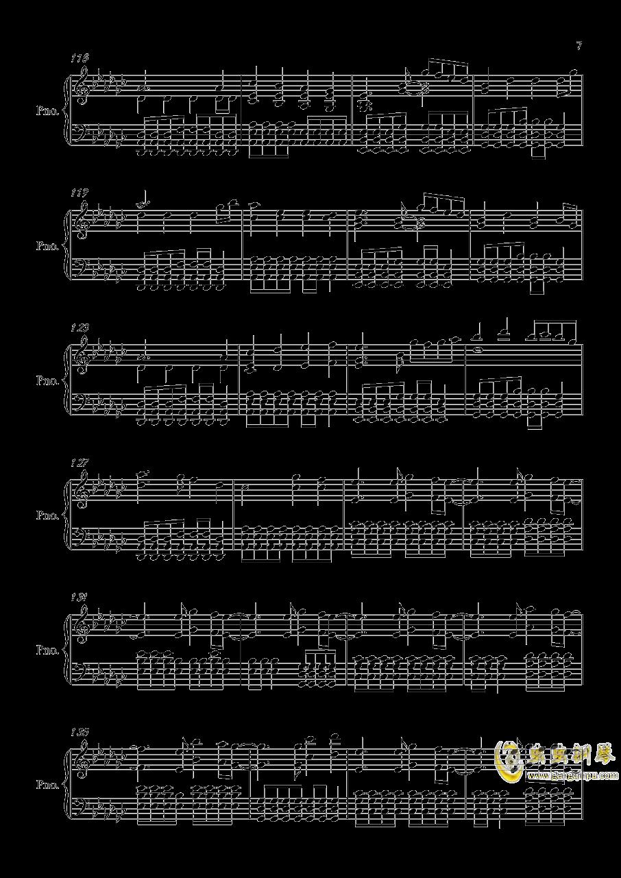 Victory钢琴谱 第7页