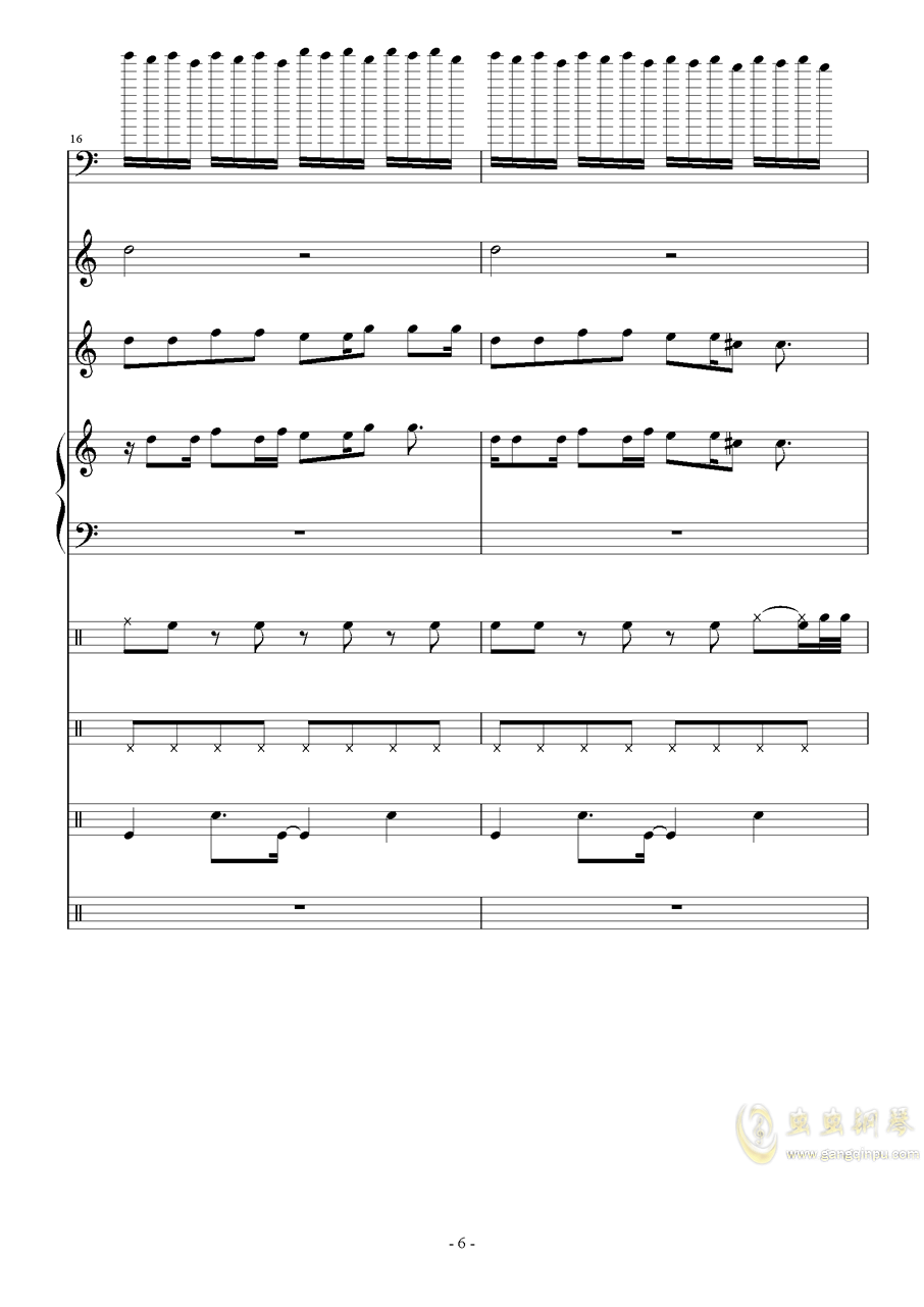 Zero-Xag88环亚娱乐谱 第6页