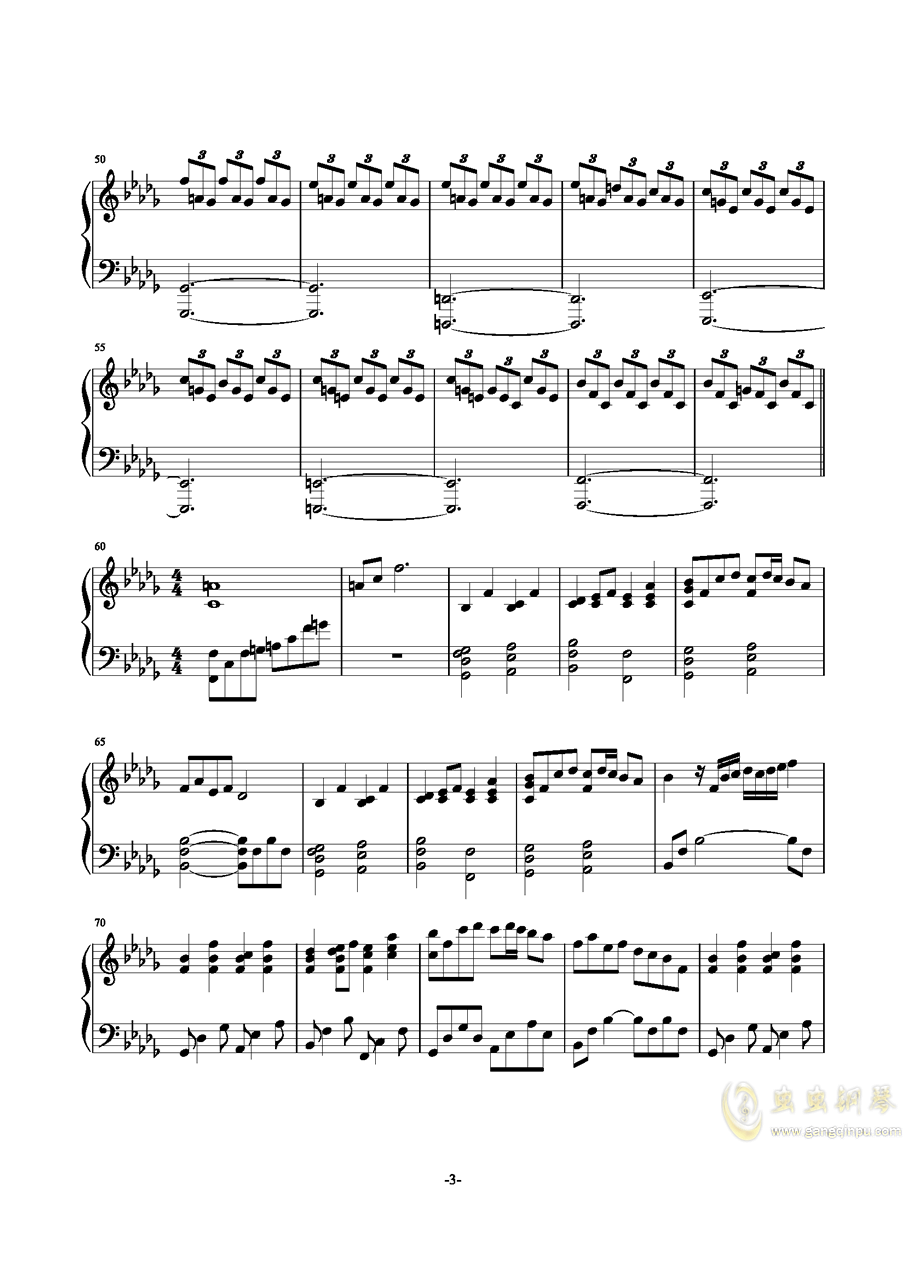 千年の孤独ag88环亚娱乐谱 第3页