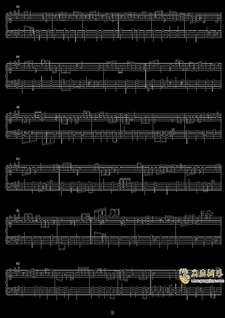 孟姜女  �R音リン钢琴谱 第2页
