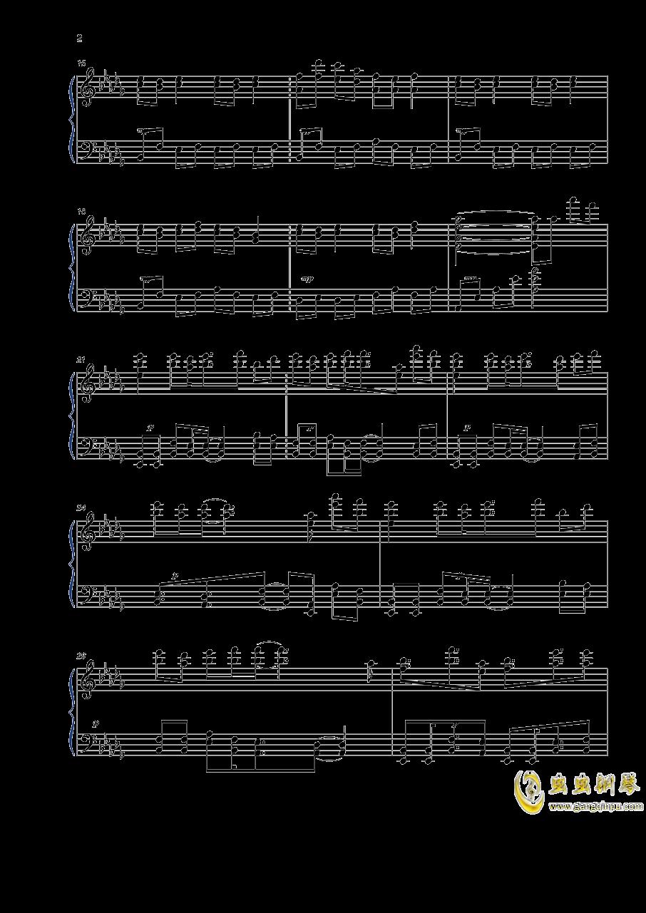世末歌者钢琴谱 第2页