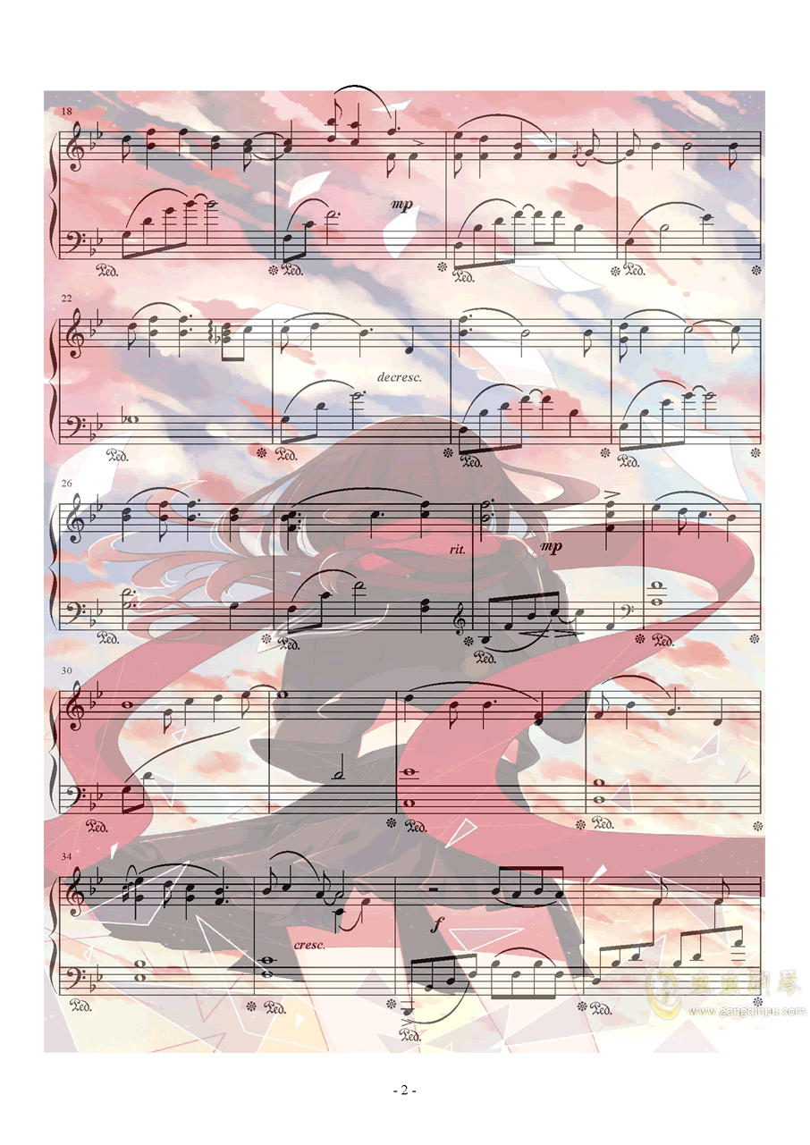 Xeuphoria - Lights钢琴谱 第2页