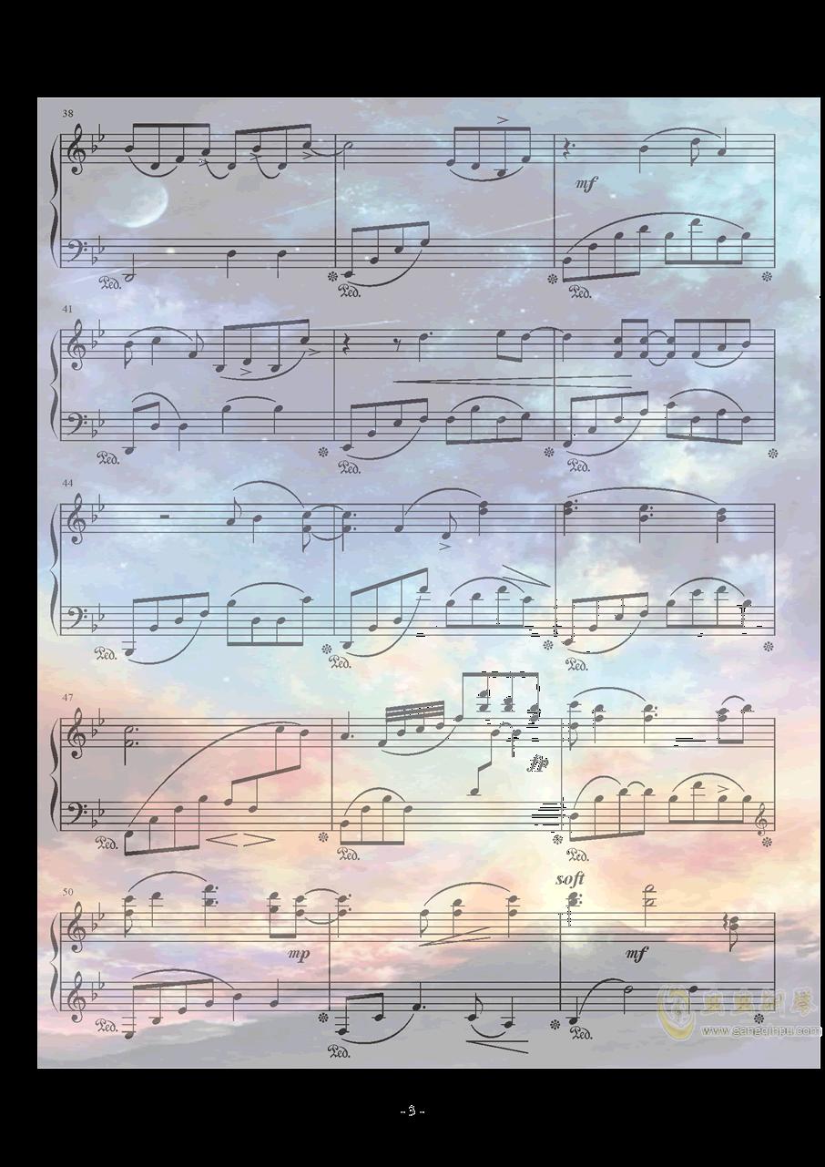 Xeuphoria - Lights钢琴谱 第3页