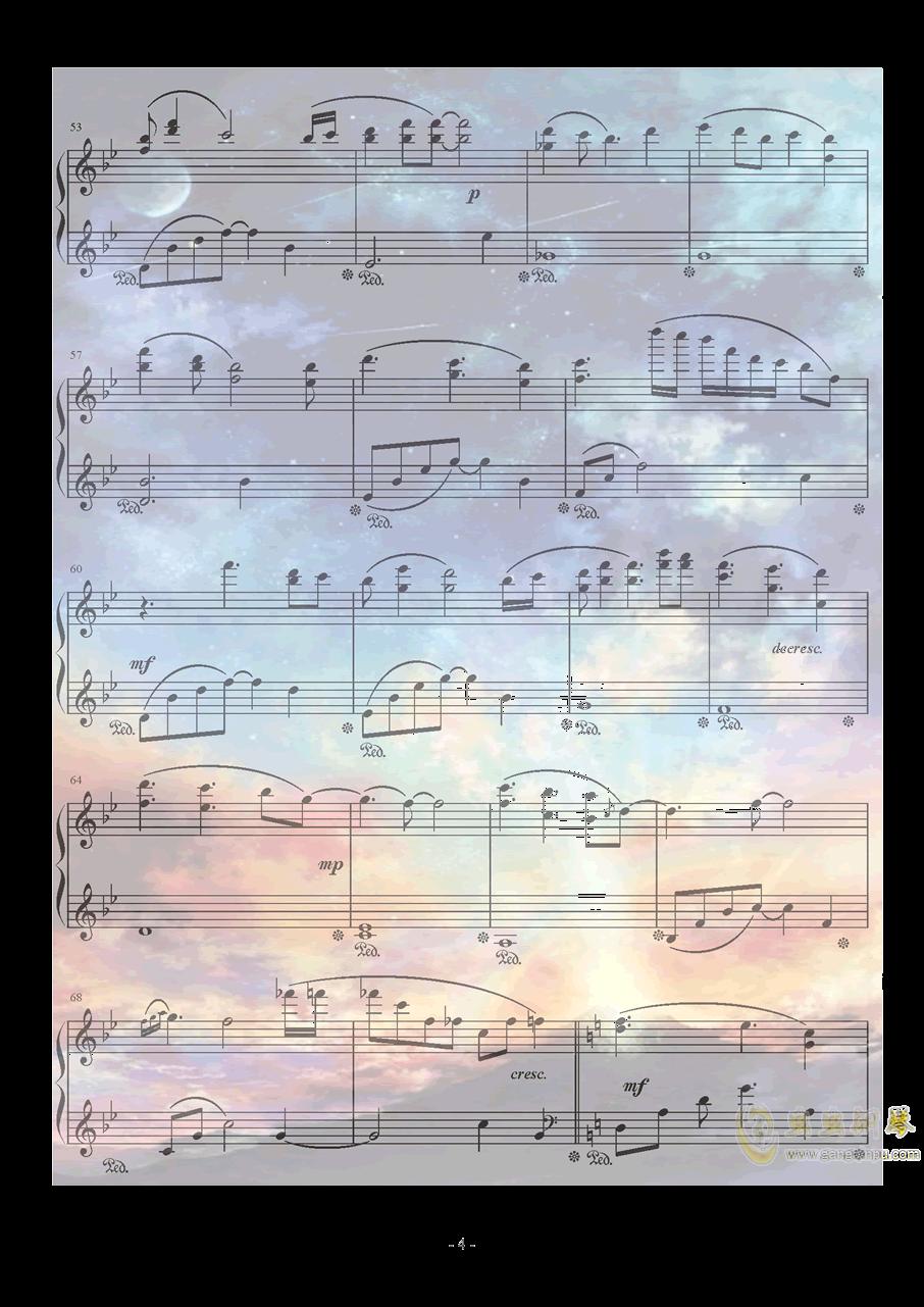 Xeuphoria - Lights钢琴谱 第4页