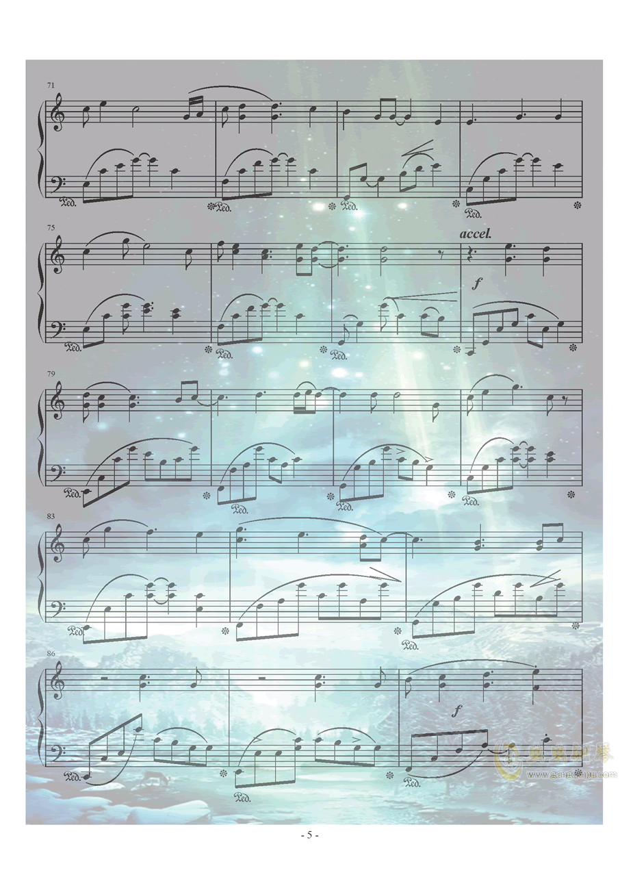 Xeuphoria - Lights钢琴谱 第5页