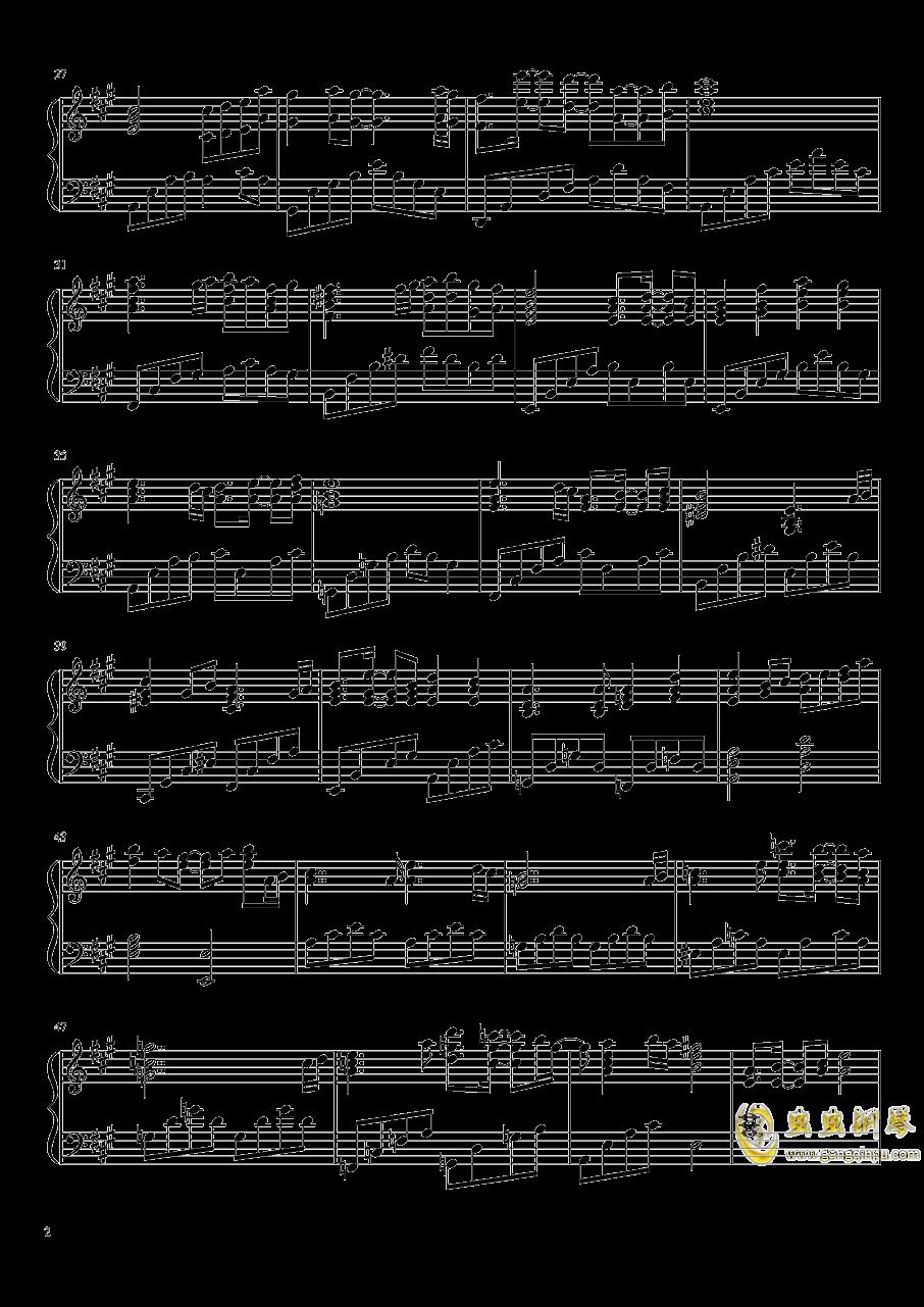 关于我转生变成史莱姆这档事钢琴谱 第2页
