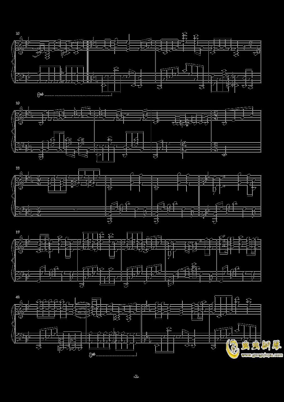 波西米亚狂想曲钢琴谱 第2页