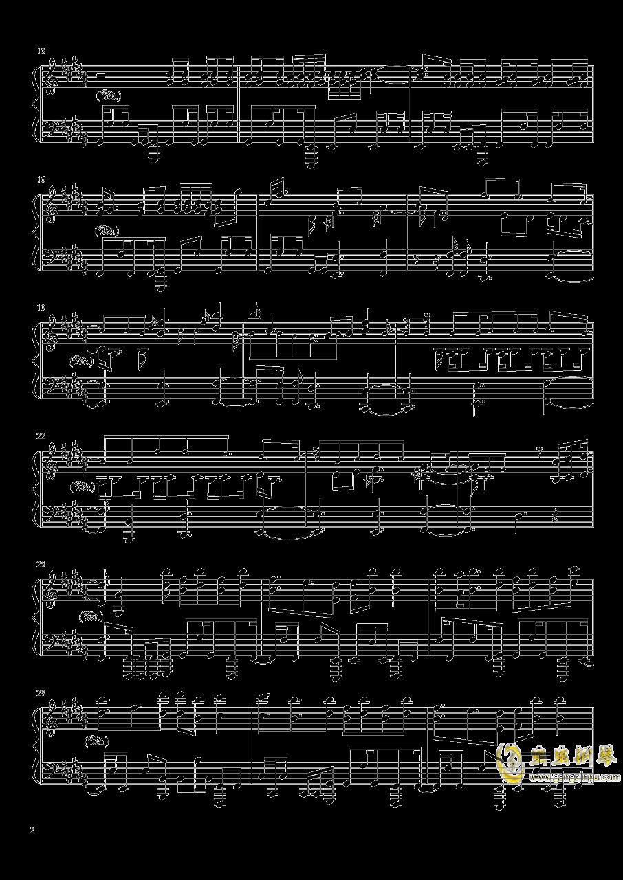 Amazing Trees钢琴谱 第2页