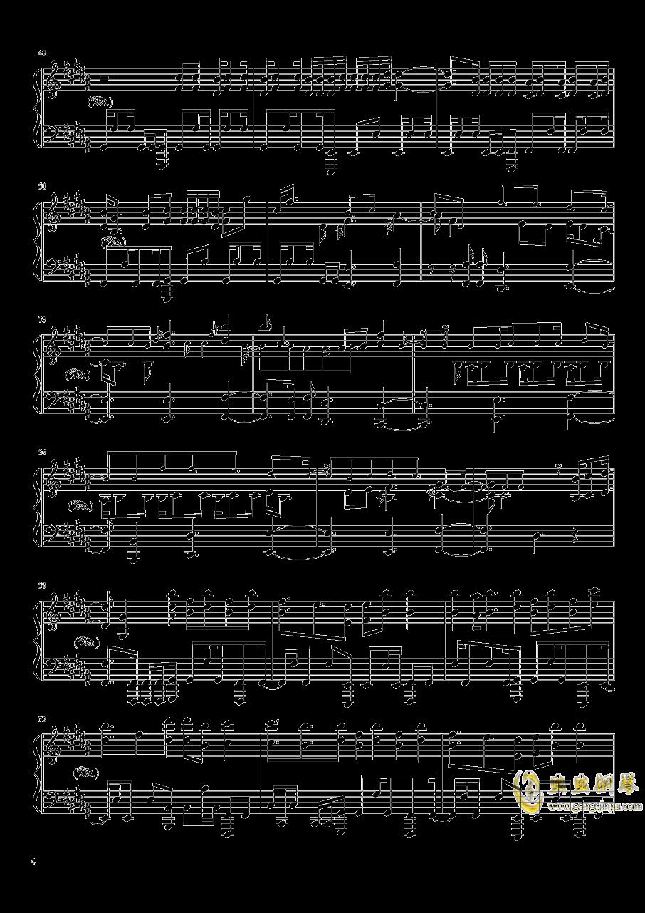 Amazing Trees钢琴谱 第4页